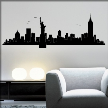 "<font color=""#0044CC"">New York Skyline</font>"