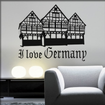 "<font color=""#0044CC"">I Love Germany</font>"