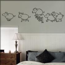Adesivi da muro, camera da letto, sticker, Decosticker, motivi ...